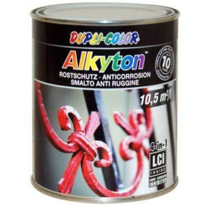 Alkyton 4v1, osnovni premaz, zaščita proti rji, barva in tesnilo.